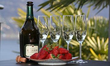 Champagner Tessin