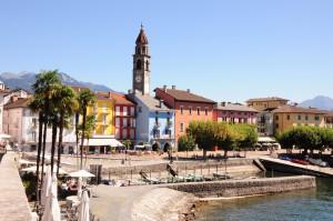 Das Tessin italienische Schweiz