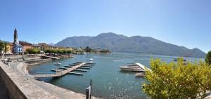 Ascona Hafen und Piazza