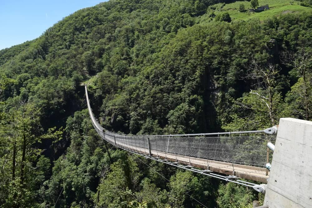 Ponte Tibetano (Bild: Ticino Turismo)