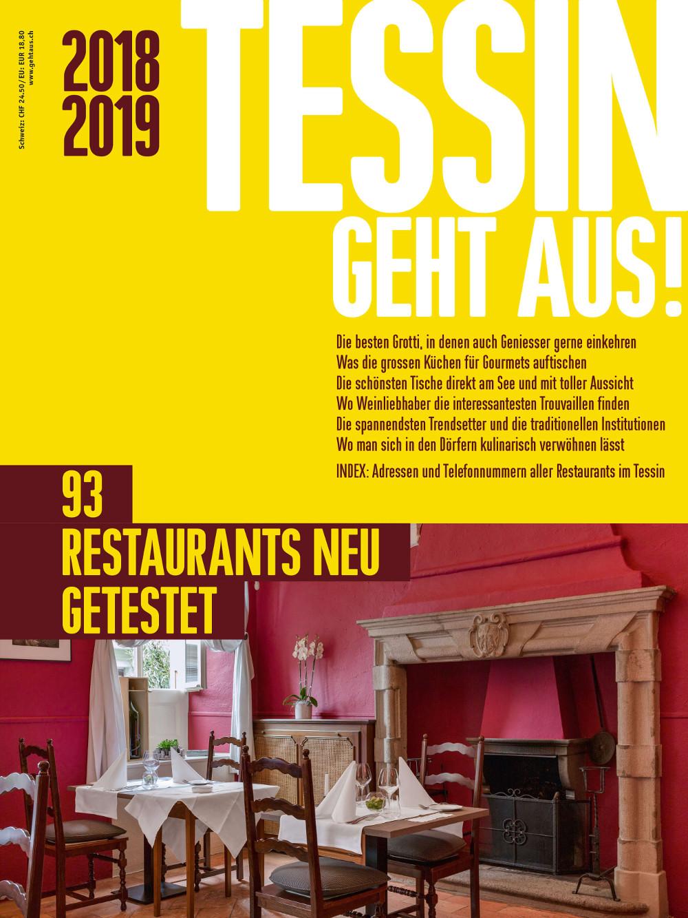 """Das neue """"TESSIN GEHT AUS!"""" (Bildquelle: TESSIN GEHT AUS)"""