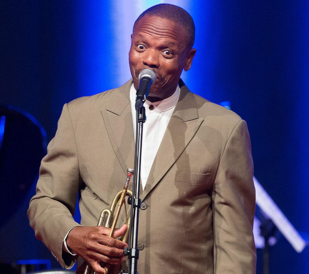 Publikumsliebling Leroy Jones (Bild: © JazzAscona)