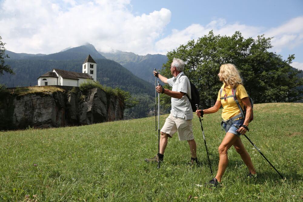 Herrlich wandern im Tessin (Bild: Ticino Turismo, Foto Remy Steinegger)