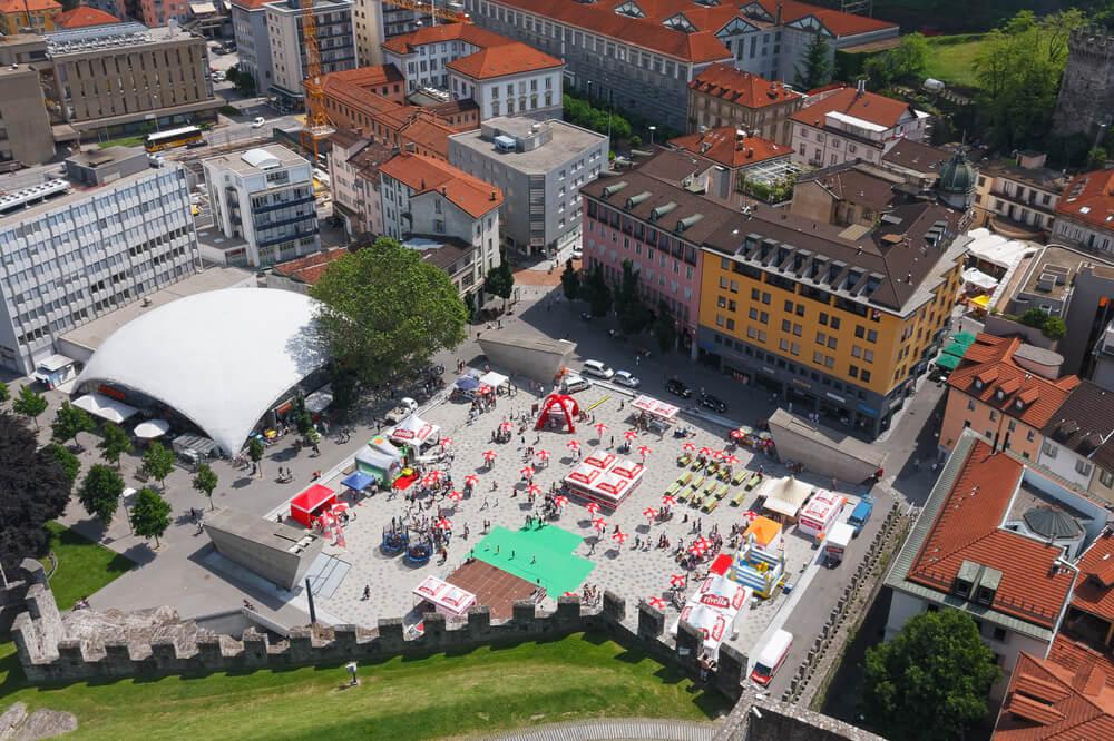 Bellinzona City (Bild: Bruno Mazzetti - shutterstock.com)