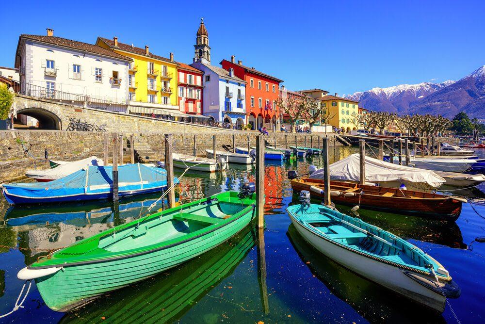 Blick auf die Altstadt von Ascona (Bild: Boris Stroujko - shutterstock.com)