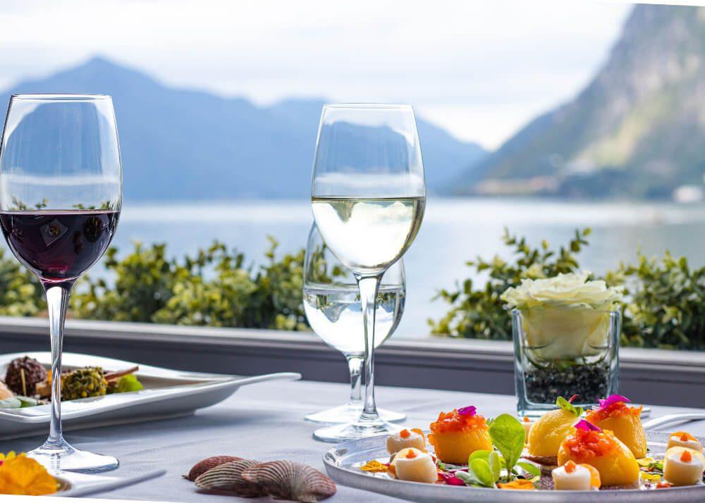 Restaurant Galleria Arté al Lago (Bild: © Grand Hotel Villa Castagnola, Foto Liliana Lafranchi)