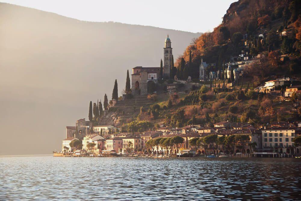 Morcote (Bild: © Lugano Region - Foto Enrico Boggia)