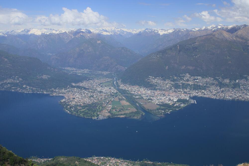 Panorama Lago Maggiore, Ascona und Locarno (Bild: A. Overeem - shutterstock.com)