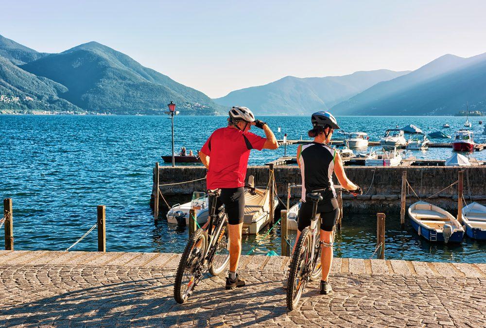 Ascona-Locarno - ein Paradies für Radsportfans (Bild: Roman Babakin - shutterstock.com)