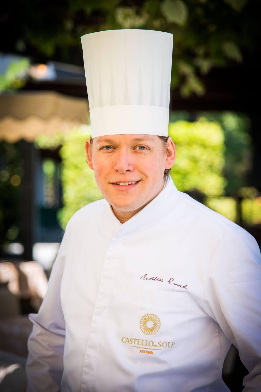 Chef Mattias Roock © Castello del Sole